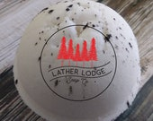 Marshmallow bath bomb, 2 ounce bath bomb