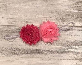 Flower skinny headband