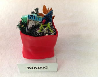 Biking Ornament