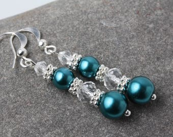 Dangle earrings, bride, bridemaid earrings earrings