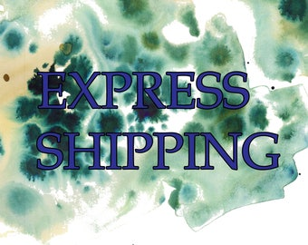 Express shipping for USA and Canada only