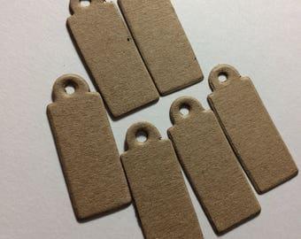 Kraft Cardstock Mini Tags