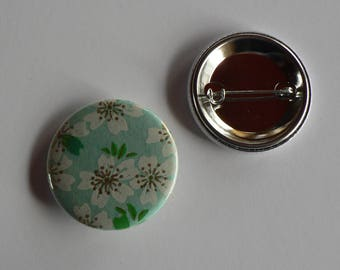 Badge 38mm Japanese paper.