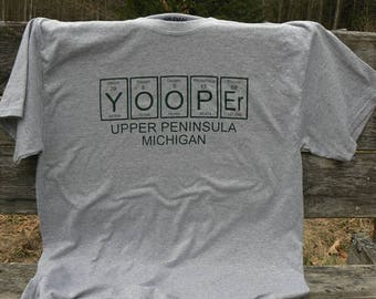 Yooper Upper Peninsula tshirt HMB Crafts Chemical UP of Michigan