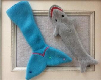 Mermaid or Shark to fit one of Santa's elves you choose