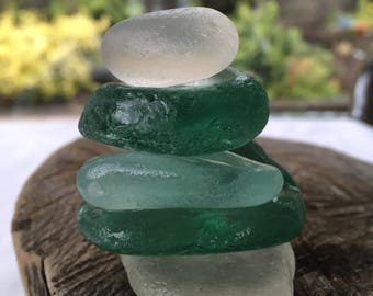 Gorgeous Chunky Stackers of Scottish Sea Glass SG 29.7.17.2