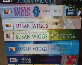 8 Susan Wiggs books / Susan Wiggs novels