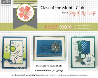 Class of the Month: Eastern Beauty PLUS BONUS PDF Instant Digital Download Cardmaking Classes, India, palace, wedding, bohemian, bollywood