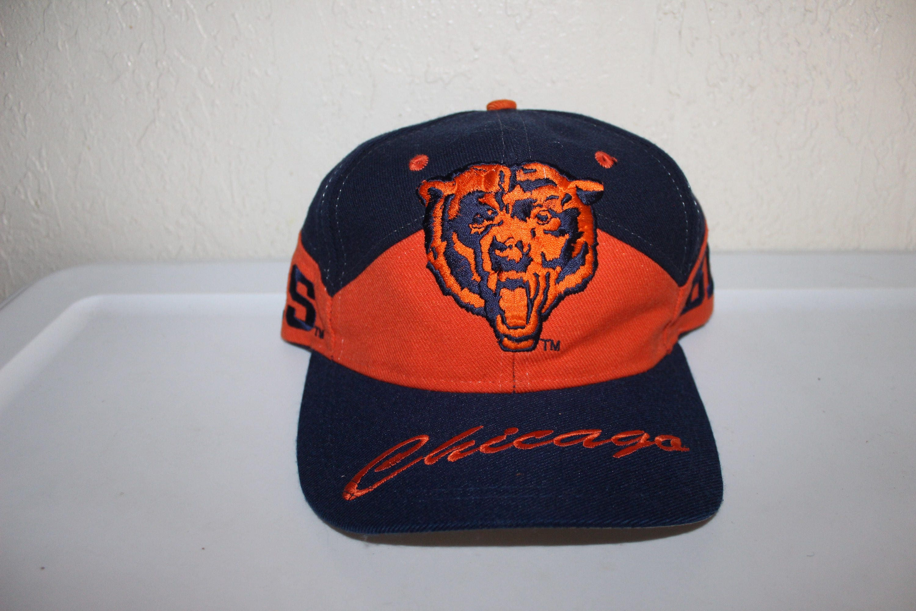 ... NFL Total Reflective 59FIFTY Cap Vintage 90s Chicago Bears Snapback by  Drew Pearson ... d71e242f3056