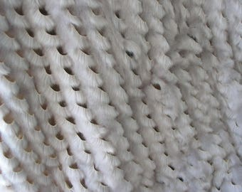 Fabric faux fur beige original by these cutouts, snug fit