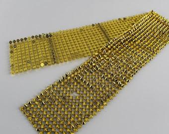 Gold Metal Spike Trim Metal Cones