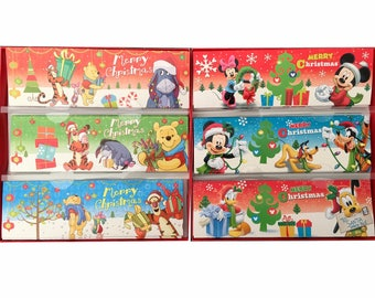 Christmas cards with envelopes Mickey and his friends - set of 24 cards