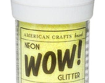WOW NEON - color LEMON glitter glitter