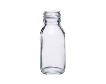 Mini 60 ml glass bottle