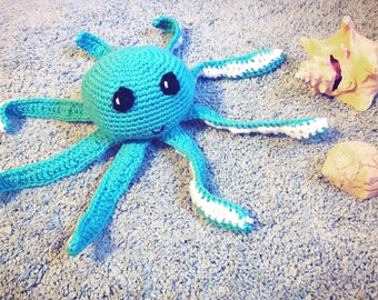 Crochet Octopus Stuffed Animal