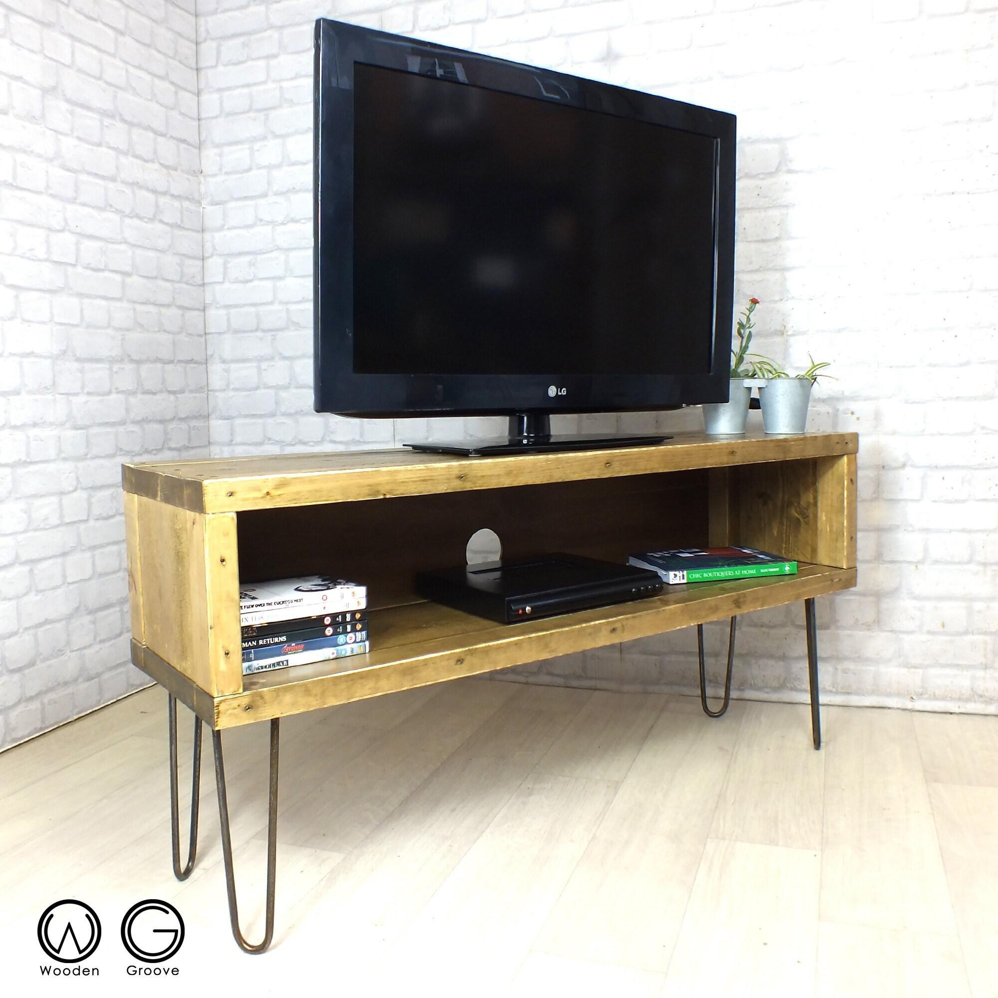 Communiqu S De Woodengroove Sur Etsy # Table Pour Tv