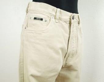 Hugo Boss Jeans, Beige Hugo Boss jeans, Size W32 L34 Style Arkansas 13337 100% Cotton in great condition, Hugo Boss denim pants
