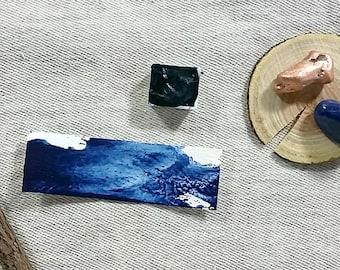 Prussian Blue Watercolor - Half-pan