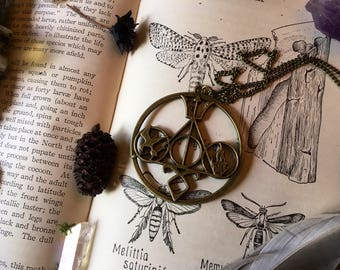 Novelist Lover's Necklace; Harry Potter, Divergent, Percy Jackson, The Hunger Games, The Mortal Instruments