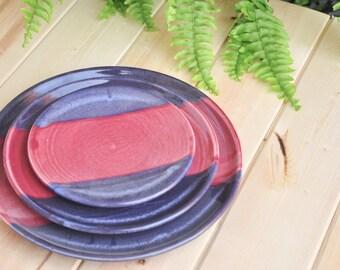 Handmade Porcelain Dinner/Lunch/Bread Plate - Made To Order