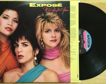 Expose - What You Don't Know (1989) Vinyl LP; When I Looked at Him