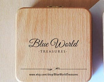 Solid Wood Jewelry Presentation Gift Box ~ Gift Box Upgrade