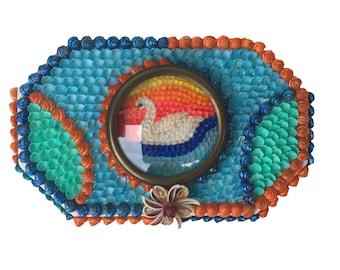 Swan Seashell Box
