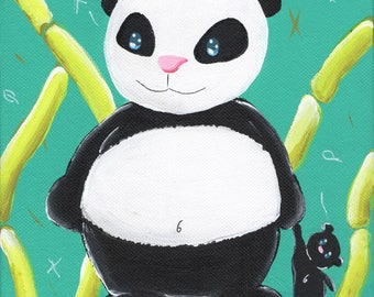 """""""Panda"""" table for child's room... among others ;)"""