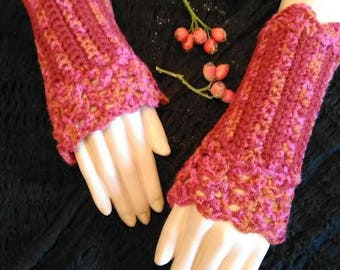 Fingerless gloves lace fall