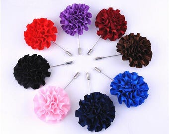 8 Pcs Trendy Men's High-end Brooch/Formal Dress Corsage , Men's Lapel Pin , Wedding Boutonniere YTG06