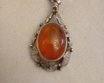 small Fischland jewelry pendant 835 silver probably 1970s