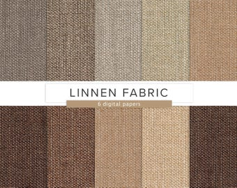 Linnen Fabric Texture / Digital Paper / Brown Linnen Cloth Pattern JPG Format Textile Textures / INSTANT DOWNLOAD