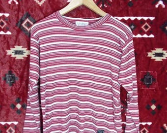 Crazy Sale..!!! 50% Cleared Stock..!!! Stunning Rare Tous Les Calecons Paris Collection Striped Coloured LS Tshirts
