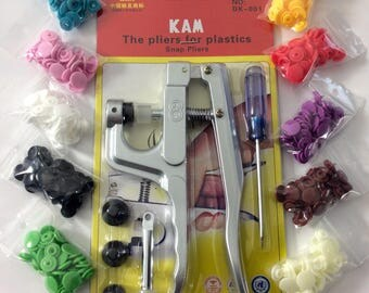 Set claw KAM + 100 pressure, 10 different colors