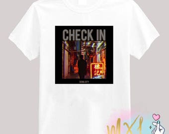 Check In // Seventeen Kpop T-Shirt