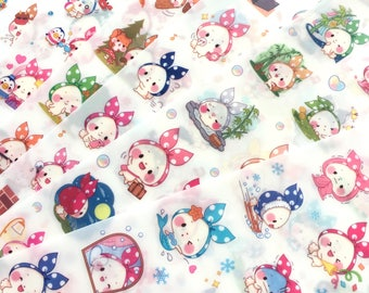 Kawaii planner stickers - 6 sheets