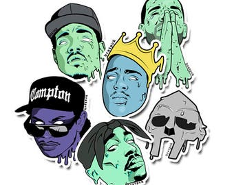 Hip-Hop Sticker Pack