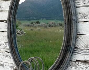 Large Lariat Mirror