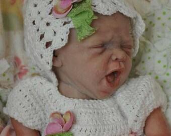 Made to Order Mini Yawns Micro Preemie Reborn Baby