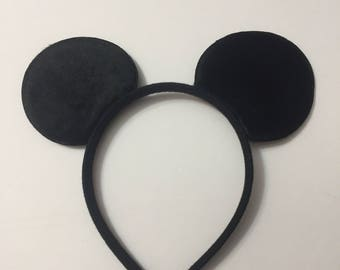 Mickey Mouse Inspired Headband, Mickey Mouse Props, Mickey Mouse Costume