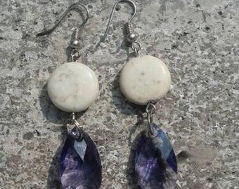dangle drop earrings handmade earrings stone earrings handmade jewelry jewelry jewelry accessories nickel free earrings women earrings