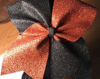 All Glitter Tic -Tok Bow