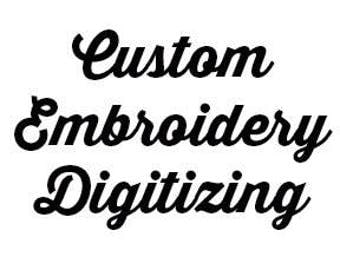Custom Embroidery Digitizing