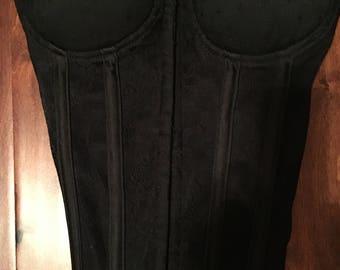 Black Lace Bustier