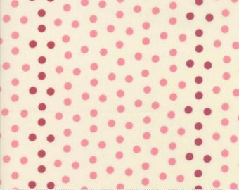Sweet Blend Prints Sweet Berry Polka Dots by Edyta Sitar of Laundry Basket Quilts for Moda 42215 12