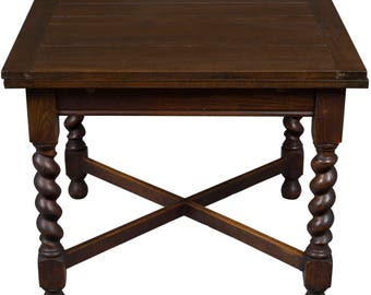 Antique English Oak Pub Table