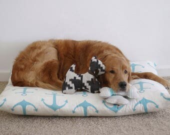 Dog Bed Cover, Custom Pet Bed Cover, Durable Dog Bed Cover, Dog Bed Duvet Cover, Small to XL Covers for Dog Beds