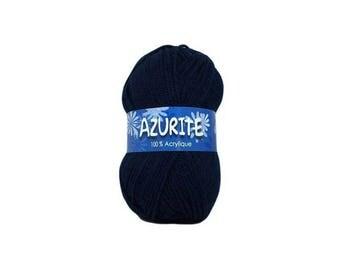 Wool knit Navy Blue Azurite 3090