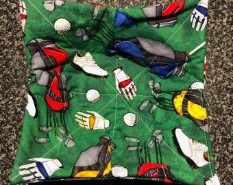 Golf Themed Microwave Bowl Holder