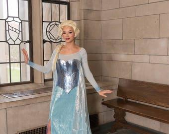 Elsa inspired shoes